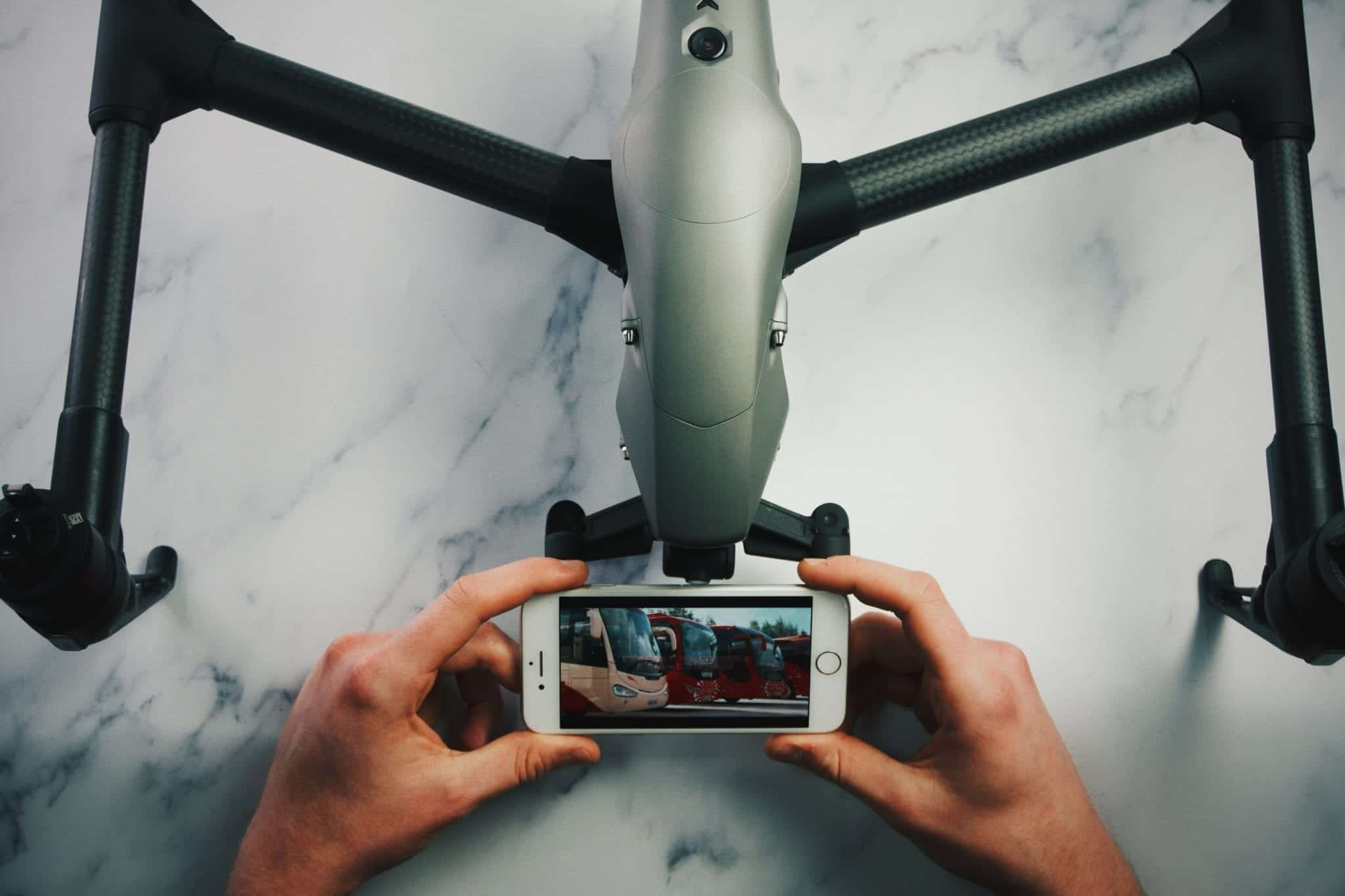 Drone Video Production in Warrington