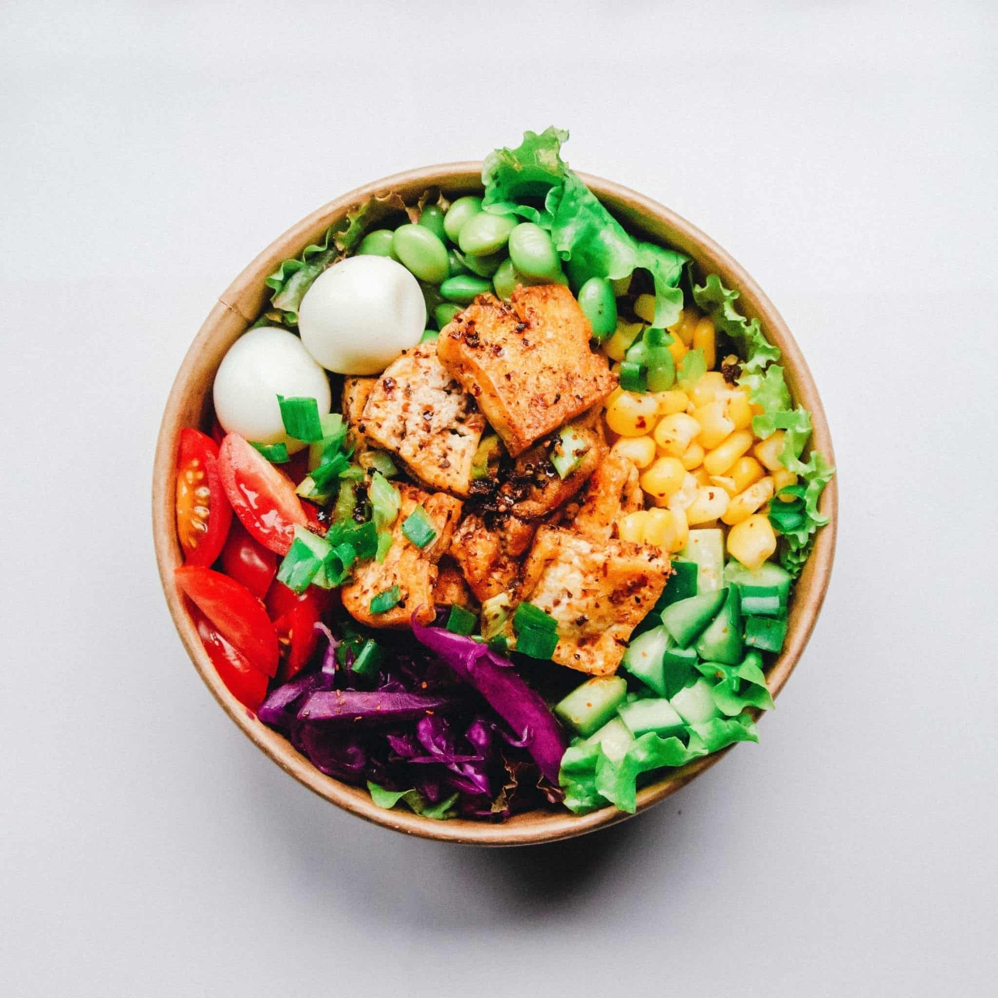 Healthy Food provider Colour Palette