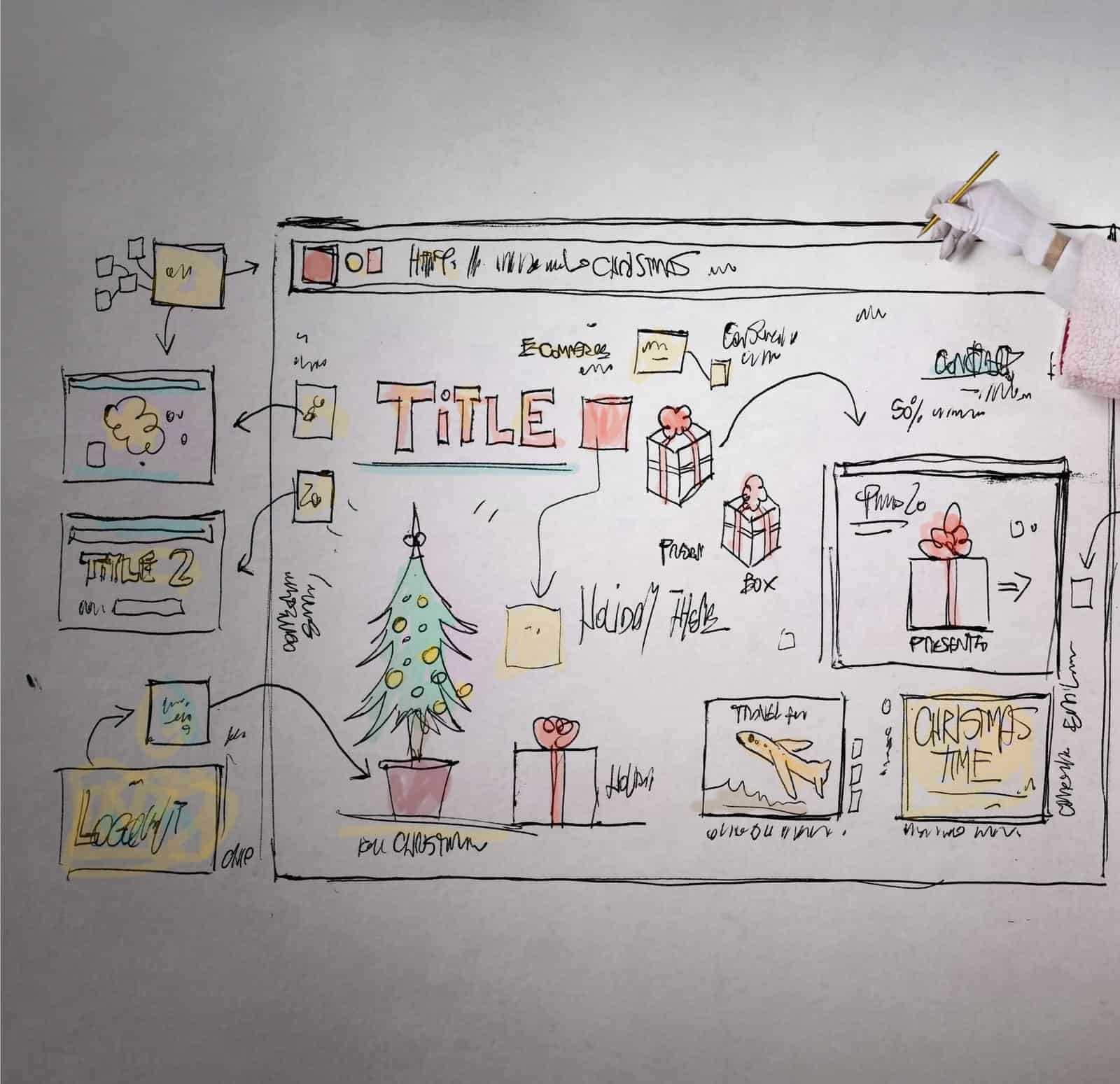 Last-Minute Ideas to Decorate Your Website for Christmas